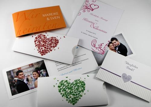 Hochzeitskarten Und Einladungen Drucken Und Gestalten